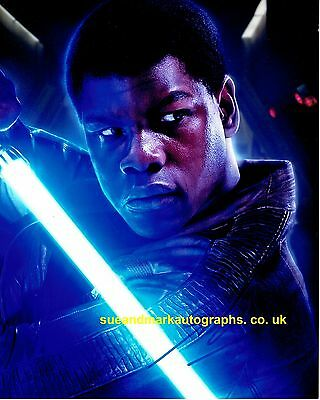 John Boyega Finn Star Wars: The Force Awakens A Autograph UACC RD 96
