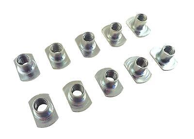 Lot of 10 each Sliding Tee T Nuts w 1/4 20 Threads for Jigs and T Track STN-1/4