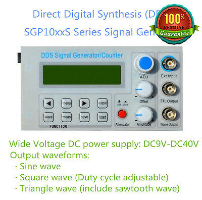 2Mhz Panel DDS Function Signal Generator Module Sine/Triangle/Square Wave +Sweep