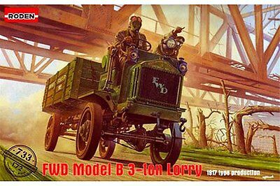 RODEN 733 1/72 FWD Model B 3 Ton Lorry