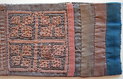 Stickerei Asien Thailand Hmong Tribal Art Länge 490 Mm Traditional Embroidery