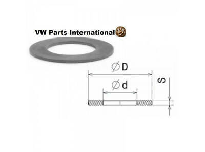 VW GOLF MK3 VR6 Schrick 1mm Washer for valve springs (s=1,00mm, d x D=16 x 22...