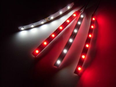 RC Red and White Underbody 3528 LED Strip Lights Superbright FPV Quadcopter