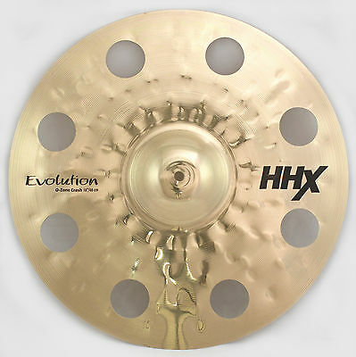 "Sabian 18"" O-Zone Crash HHX-Evolution-Serie Brilliant Finish SONDERPREIS NEUWARE"