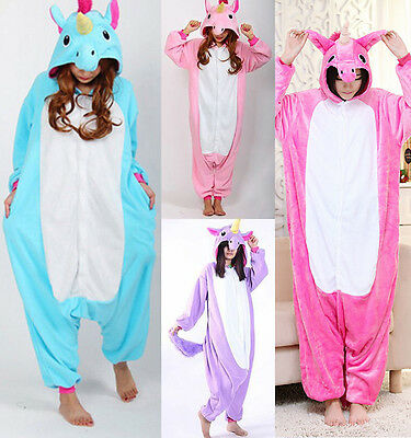 Pigiama kigurumi intero tuta carnevale feste donna animali zoo costume party