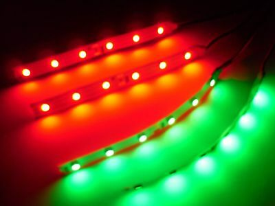 RC Red and Green Underbody 3528 LED Strip Lights Superbright Quadcopter Plane