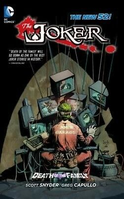 Joker Death of the Family by Scott Snyder Paperback Book (English)