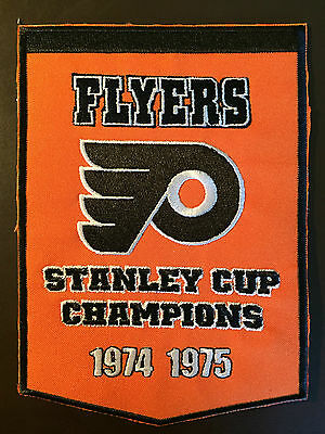 Philadelphia Flyers Stanley Cup Champions hockey patch - incredible graphics