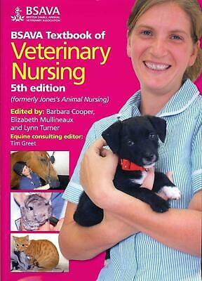 BSAVA Textbook of Veterinary Nursing by Cooper (English) Paperback Book Free Shi