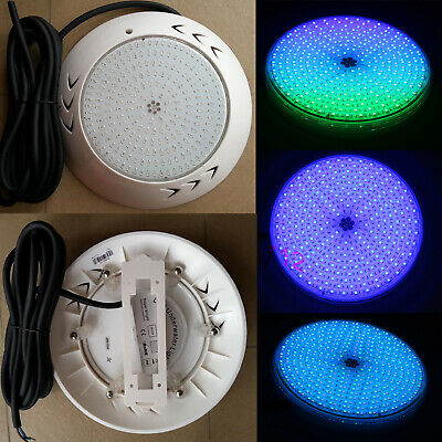 Underwater Led Swimming Pool Light SMD55W AC12V RGB Plastic Resin Lamp 4M Wire