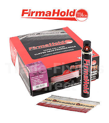 Collated Nails 1st Fix Firmahold Galv 50mm x 2.8  Paslode,Quickfire, NailFire