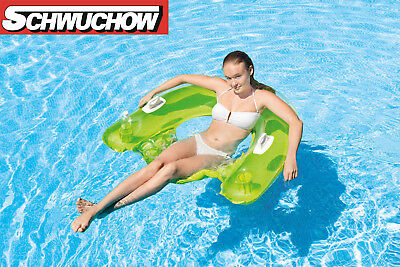 Intex Sit´n Float  Luftmatratze Schwimmsessel Blau Türkis Bestway Pool Lounge