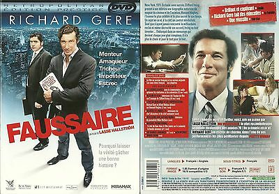 DVD - FAUSSAIRE avec RICHARD GERE ( COLLECTOR ) / COMME NEUF - LIKE NEW