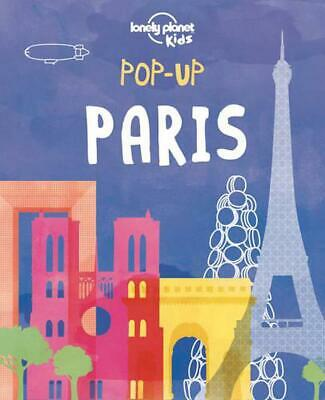 Pop-Up Paris by Lonely Planet (English) Hardcover Book Free Shipping!