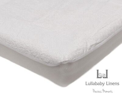 Lullababy Linens Terry Towelling Waterproof Mattress Protector 100% Cotton