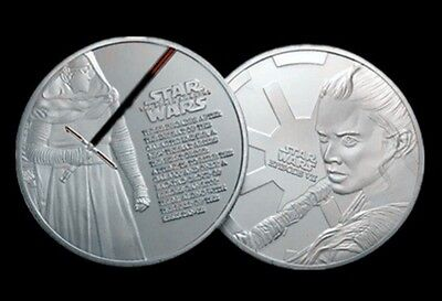 Star Wars Episode VII - The Force Awakens Silver Plated Coin