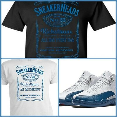051e171f0b99 EXCLUSIVE TEE SHIRT to match the NIKE AIR JORDAN 12 XII FRENCH BLUE!  ADDICTION