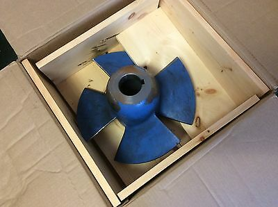"""Goulds Mpaf Axial Flow Pump Impeller 16"""" Inch Mpaf 16X16-16 # 101 New Nos  $699"""