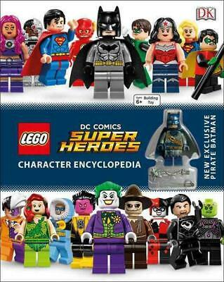 Lego DC Comics Super Heroes Character Encyclopedia by DK Hardcover Book (English