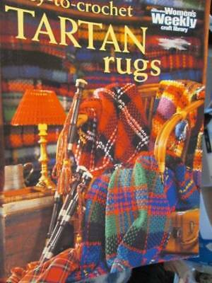 Easy To Crochet Tartan Rugs (Afghans) Book, Australian Women's Weekly, Paperback