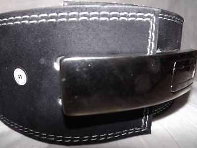 Lever Buckle Heavy Weight Lifting Leather Belt  Luxurious quality
