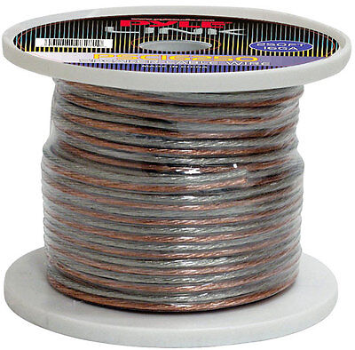 New Pyle PSC16250 16 Gauge 250 ft. Spool of High Quality Speaker Zip Wire