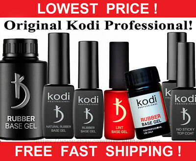 Kodi - Gel LED/UV Rubber Base / Top / Primer / Nail fresher/ Tips off/ Ultrabond