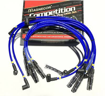 VW Golf MK3 2.8 VR6 Sport Performance Magnecor 8mm Blue Ignition Leads Brand New