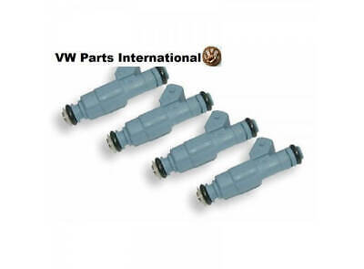 VW Golf MK2 MK3 G60 1.8T VR6 R32 Turbo Bosch EV6 Performance Injectors Blue 4...