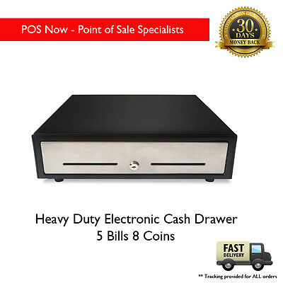 *NEW* VPOS Heavy Duty Electronic Cash Drawer with Steel Front