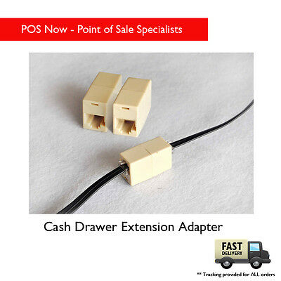 Cash Drawer Extension Adapter with 1.5m Cable