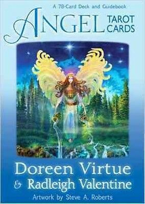 Angel Tarot Cards by Doreen Virtue Cards Book (English)