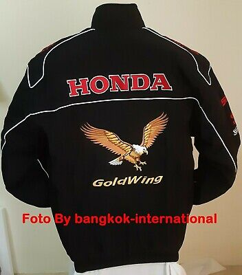 Jacket-Blouson-Jaquette.goldwing Racing Team  All Logo In Brodery