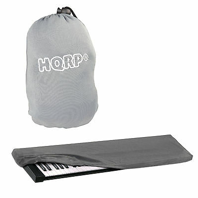 Gray Elastic Dust Cover with Bag for Korg LP-180 SP-170 SP-170s SP-170SRD Piano