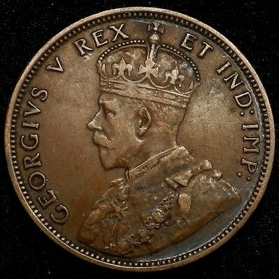 1911 Canada Large Cent 1C George V Key Date Better Grade