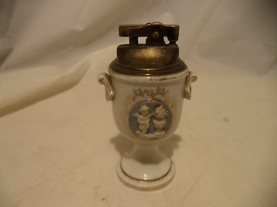 Vintage Ceramic Table Cigarette/Cigar Lighter Retro
