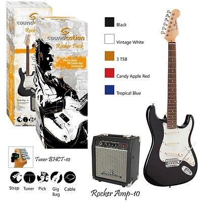 Soundsation Rocker Pack 3Ts Guitar Pack Elettrico