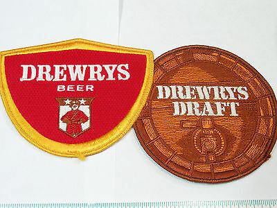Drewerys & Dewerys Draft Beer Large Jacket Patch