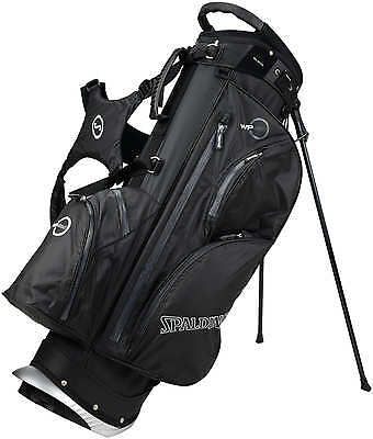 Spalding WP360 Waterproof Standbag, black/grey - NEU - Preishammer! - UVP 199,95