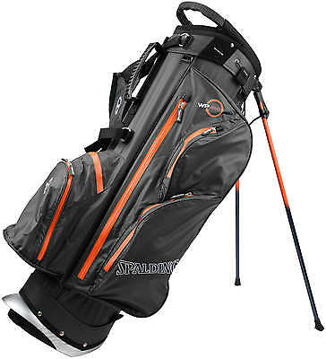 Spalding WP360 Waterproof Standbag, black/orange - NEU Preishammer! - UVP 199,95