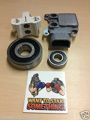 Ford Motorcraft 3G IAR Alternator Repair Kit Regulator brushes bearings 92-2002