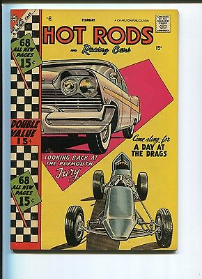 Hot Rods And Racing Cars #34  9.4/9.6  Nm    68 Page Giant  Really Sharp Copy