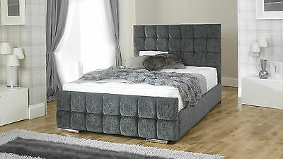 Nevada Upholstered Bed Frame storage 3' Single 4'6 Double 5' King size