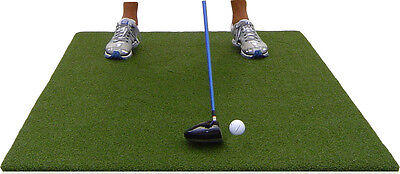 Backyard Golf Mat 3' x 5' Pro Residential Practice Golf Turf Mat With Foam Pad