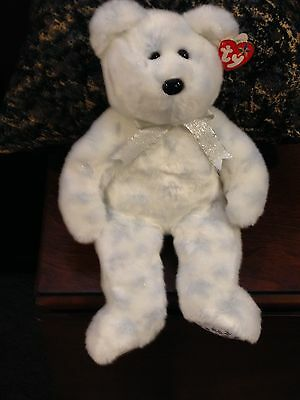 Retired Ty Beanie Buddy The Beginning Bear Mint With Tags