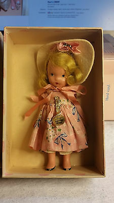 RARE Vintage #119 Mistress Mary Bisque doll with box and Original Arm Tag