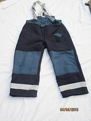 Fire brigade Pants,british army,Trousers Crash Firefighter,Size 5,Ballyclare,