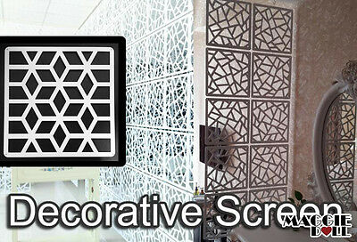 Pack of 10 Decorative Screens panel- Garden Indoors Wall Art DIY FREE SHIPPING 4