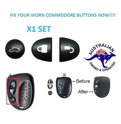 1X  Holden Commodore Key Buttons SET VS VT VX VY VZ WH WK WL