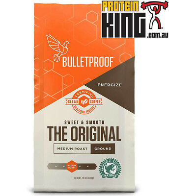 Bulletproof Upgraded Coffee 340G Ground Arabica Beans Bullet Proof Dave Asprey